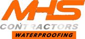 Waterproofing – MHS Contractors Logo